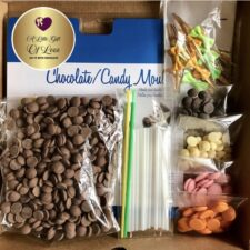 Melt, Make and Decorate Chocolate Lollipop and Pizza Kits